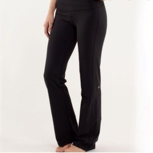 Lululemon Astro Black Yoga Pants